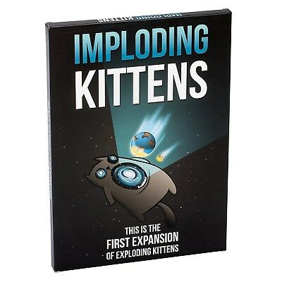 Imploding Kittens: Exploding Kittens Expansion The Oatmeal New Exploding Kittens