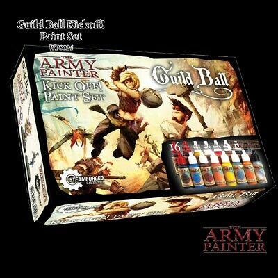 Warpaints Guildball Paint Set The Army Painter Brand New