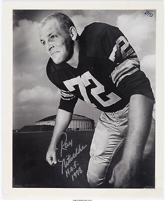 NFL Photo Signed by Ray Nitschke Green Bay Packers 1958 First Day as a Pro #72!