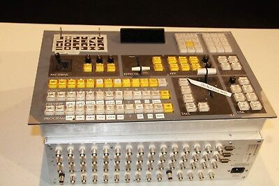 Echolab MVS-5 Switcher with Control Panel - USED