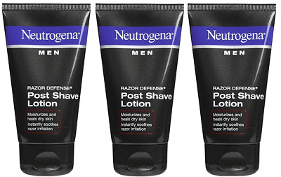 Neutrogena Men Razor Defense Post Shave Lotion, 2.5 Oz (3 Pack)