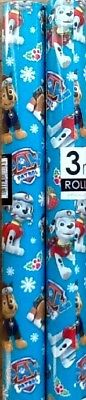 Paw Patrol 2 X  3 Metres Christmas Wrapping Paper
