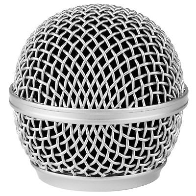 Talent DM-RG Universal Steel Mesh Replacement Microphone Grille - Gray