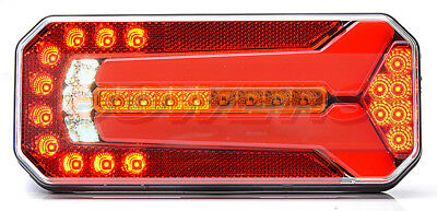 Rear Led Combination Light Lamp With Progressive Dynamic Sequential Indicator