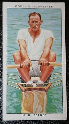 World Sculling Champion  Bobby Pearce   Vintage Rowing Card