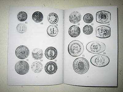 Bohemia, Czechoslovakia, Tokens of Czech Breweries. Catalogue of beer tokens.