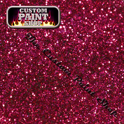 "Metal Flake, Custom Paint FECKIN FUSCHIA  50grams Small (100micron 0.004"")"