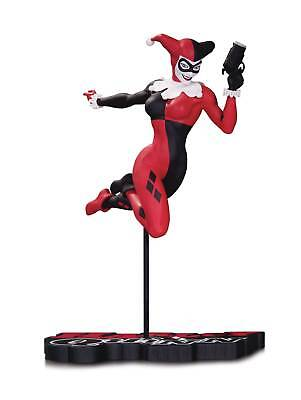 DC Comics Harley Quinn Red, White, and Black Harley Quinn Statue By Terry Dodson