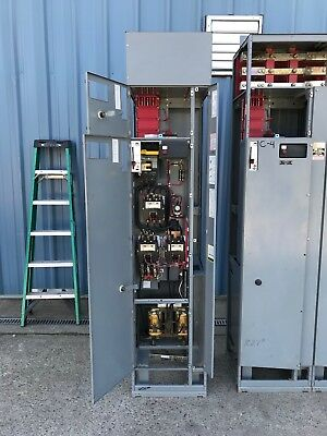 Square-D Model 5 125 HP 480 Volt Autotransformer Reduced Voltage Starter mcc sz4