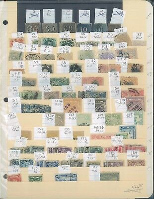1844-1956 Brazil Postage Stamp Variety Collection Catalogue Value $1,400