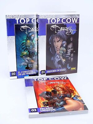 ARCHIVOS TOP COW THE DARKNESS 3 TOMOS Norma, 2009. OFRT antes 37E