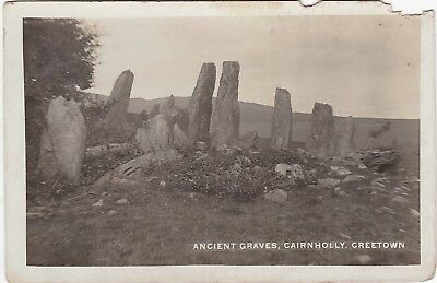 Ancient Graves, Cairnholly, CREETOWN, Kirkcudbrightshire RP