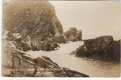The Shore Near Dirk Hatterick's Cave, CREETOWN, Kirkcudbrightshire RP