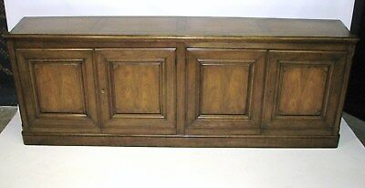Vintage Baker Furniture Four-Door Cherry Credenza - Buffet - Sideboard