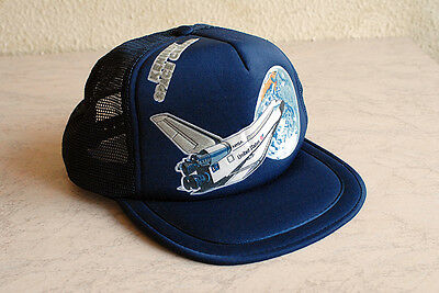 cappellino vintage Kennedy Space Center's NASA nuovo shuttle earth cap USA new
