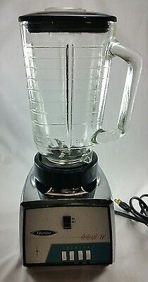 Vintage Osterizer Galaxie 4 Speed Chrome Blender  #477