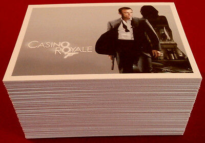 JAMES BOND ARCHIVES - Casino Royale, COMPLETE 99 Card Base Set: RITTENHOUSE 2014