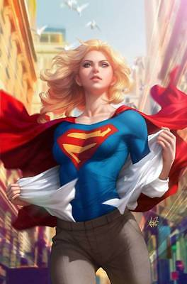 "Supergirl #15 Stanley ""artgerm"" Lau Variant Cover  Preorder 11/08/17"