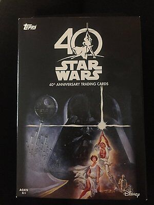 Topps Trading Cards - Star Wars 40th Anniversary - Loose set  of 10 Pkgs