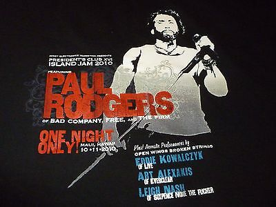 Paul Rodgers Rare Tour Shirt ( Used Size XXL ) Very Good Condition!!!