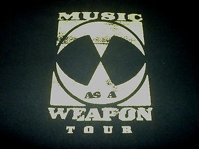 Music As A Weapon Tour Shirt ( Used Size XL ) Good Condition!!!
