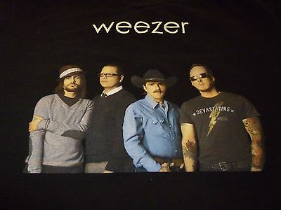 Weezer Tour Shirt ( Used Size L ) Very Nice Condition!!!