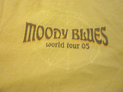 Moody Blues 2005 Tour Shirt ( Used Size 2XL ) Nice Condition!!!