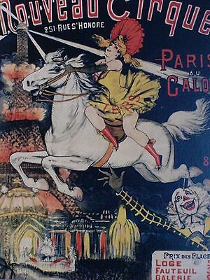 Paris Circus Postcard