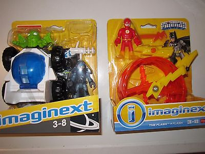 imaginext the flash dht70 and spacial vehicul with dvd
