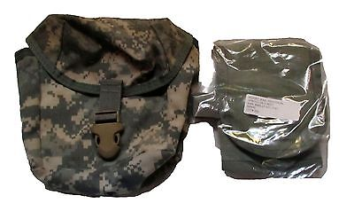 NEW US ARMY Military Surplus ACU Camo IFAK First Aid Pouch WITH INSERT & CORDS
