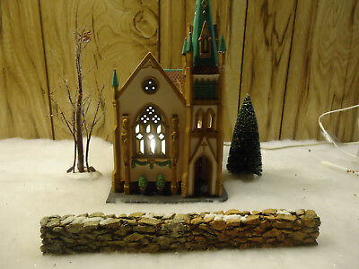 "Dept56  ""ALL SAINTS CORNER CHURCH with extras"