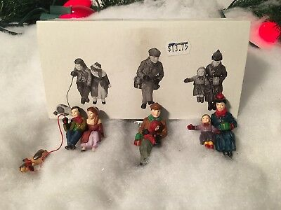 New Department 56 Heritage Village Series Christmas At The Park Set Of 3 #5866-1