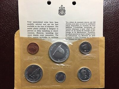 1967 Canada PL Proof Like Silver Set - Sealed with COA & Envelope