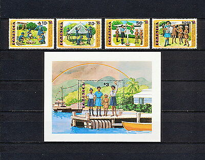 ALAC 063  DOMINICA  Girl Scouts & Girl Guides 1979  MNH
