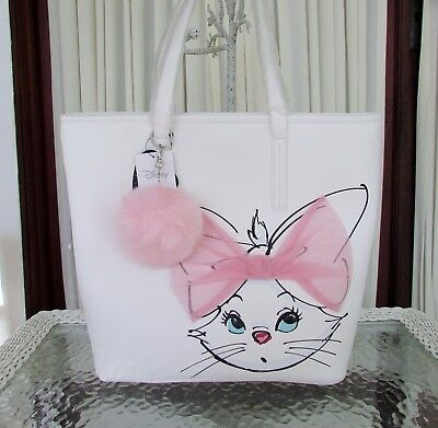 Disney Loungefly The Aristocats Marie Tulle Bow Tote White Bag Purse NWT