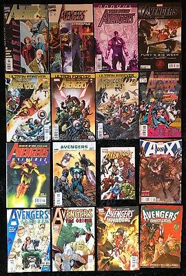 Lot of 16 Various Marvel Comics AVENGERS #1  Ultron Forever - Ultimate - A vs X