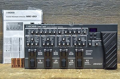 Boss ME-80 Tone Processing 8-Switch Electric Guitar Multiple Effects Pedal