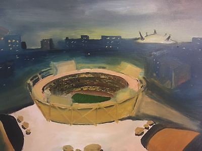 Unique Oil Painting - 2012  Olympic Stadium (London)   £1000,000