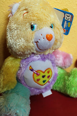 NEW Care Bears WORK OF HEART Bear 2006 Special Edition Comfy #3 Series 2 Plush