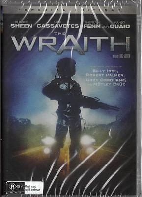 The Wraith Dvd=Charlie Sheen=Region 0, Australian Release=Brand New And Sealed