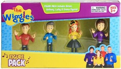 NEW Wiggles Figure 4 Pack from Mr Toys