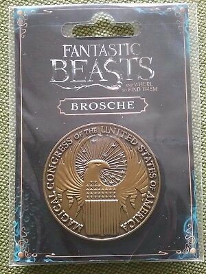 Fantastic Beasts and where to find them - Phantastische Tierwesen Brosche