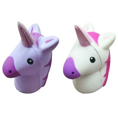 Cute Unicorn Squishy Squeeze Relieve Stress Slow Rising Kid Toy Decor Gift