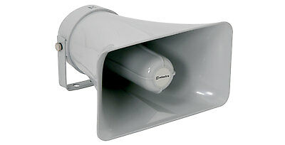Heavy Duty Large Rectangular PA Horn Speaker 8 Ohms Public Address 952.095UK