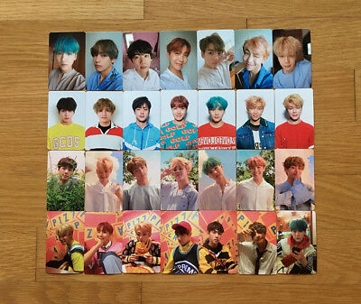 BTS 5th Mini Album LOVE YOURSELF 承 Her Official Photocards Select Member