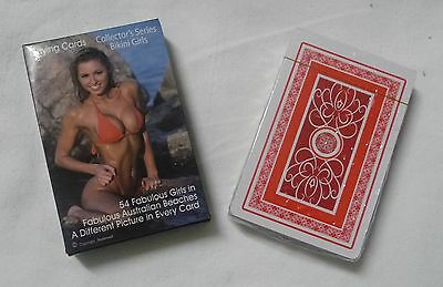 Bikini Girls PLAYING CARDS  Sexy PinUp Babe Photos Hot Lady Poker deck Games NEW