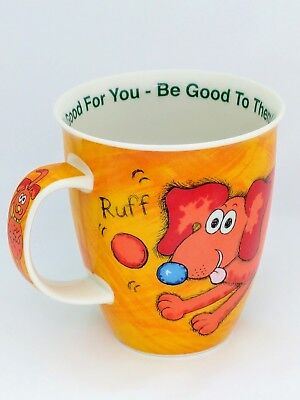 Dunoon Mug Funky Dog design Pet Night 2002  Dogs Puppy