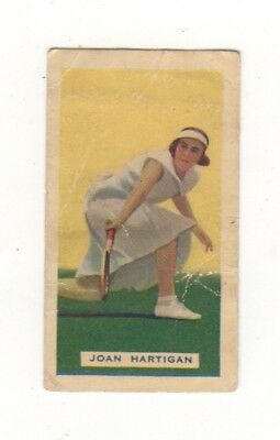 Tennis - Hoadleys - Empire Games Test Teams Joan Hartigan