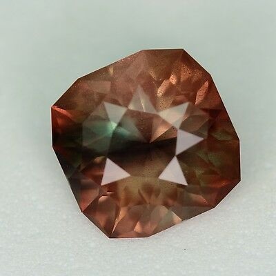 CUSTOM CUT - 9.5MM - 3.67ct - OREGON SUNSTONE - USA
