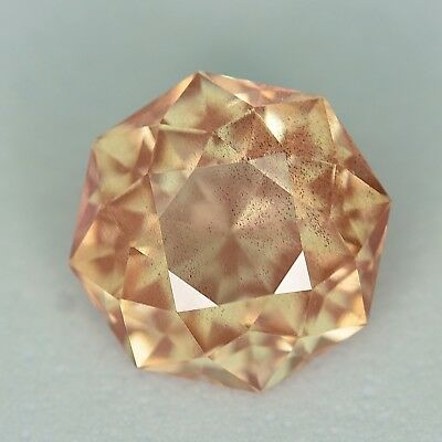 CUSTOM CUT - 9.2MM - 2.98ct - OREGON SUNSTONE - USA